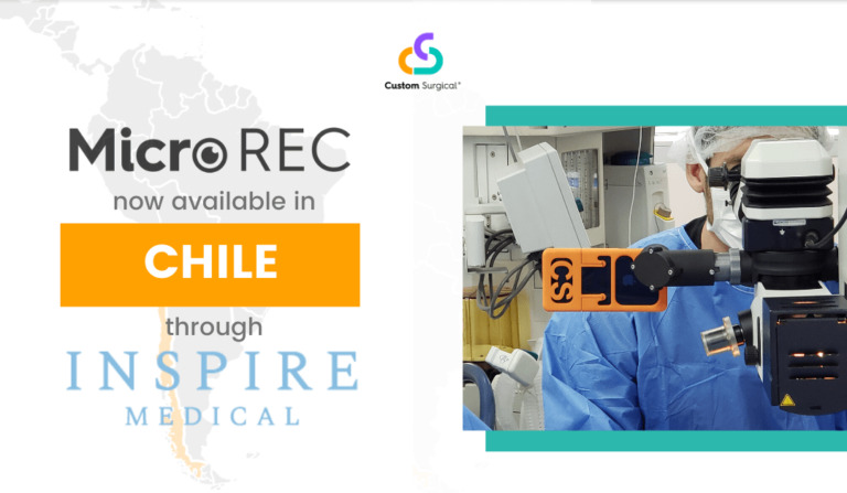 MicroREC is now available in Chile thanks to a partnership with Inspire Medical